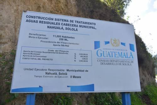La planta en Nahualá tuvo un costo de 2.5 millones de quetzales (Foto: Jesús/Alfonso)