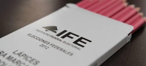 El IFE utilizó lápices para la emisión del voto durante su proceso electoral. (Foto: El Financiero)