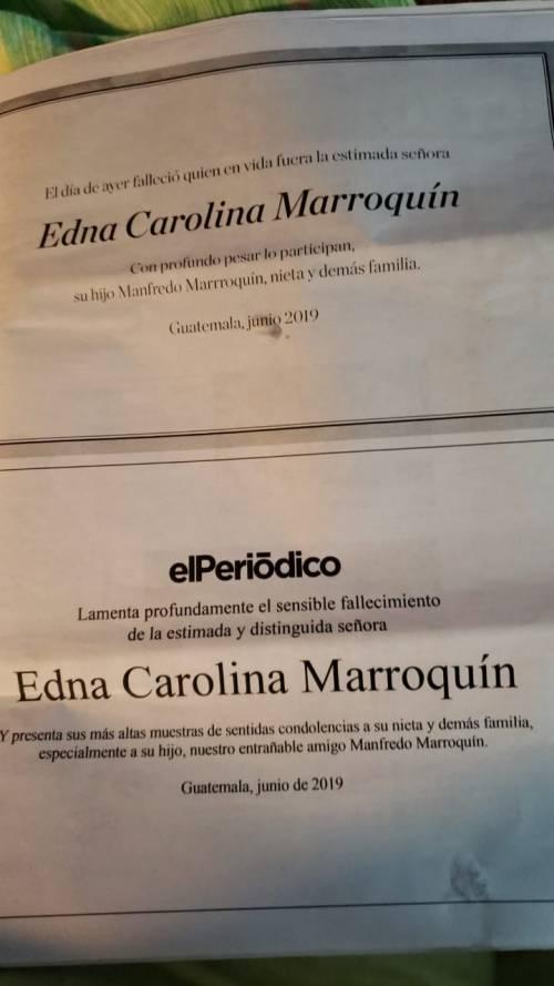 La muerte de la madre del candidato de FCN fue publicada. (Foto: Jessica Gramajo/Soy502)