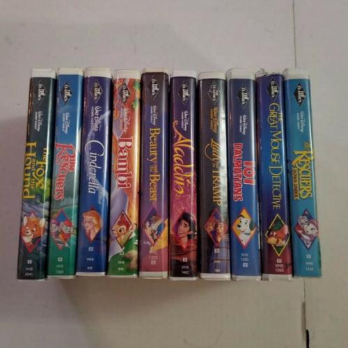 Las cintas VHS de Disney ahora valen miles de dólares