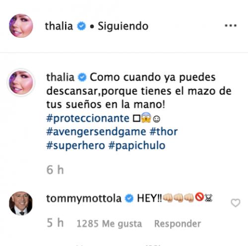 Thalía declara su amor a otro hombre