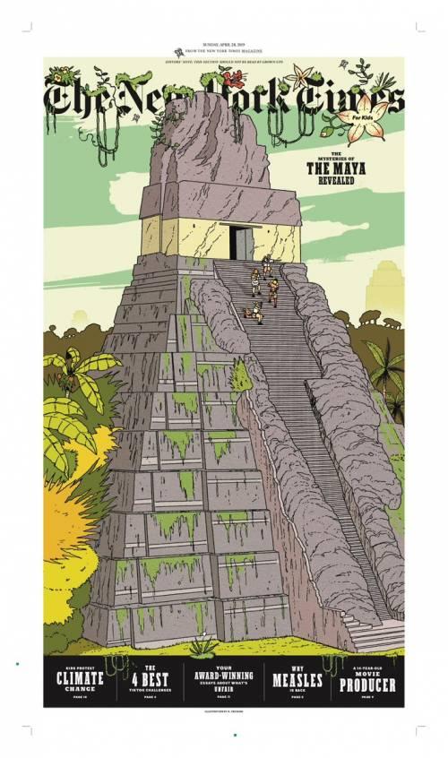 Así luce la portada del especial para niños de The New York Times. (Foto: Tome Clynes)