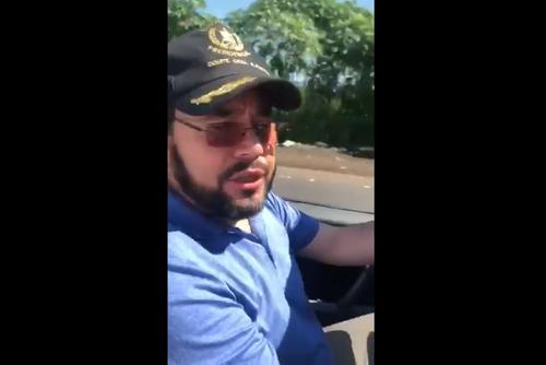 El mandatario publicó el video en redes sociales. (Foto: captura pantalla)