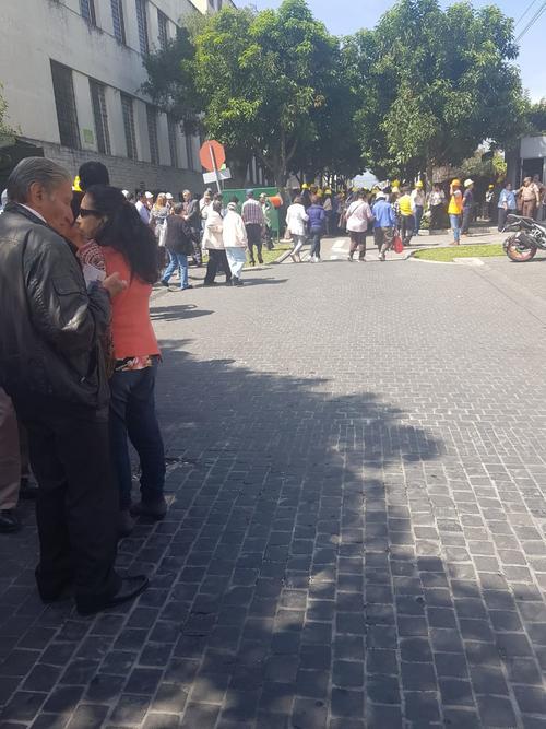 Las autoridades del Consejo Nacional de Áreas Protegidas evacuaron al personal.