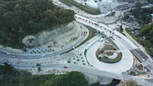 En los días previos a la inauguración se han realizado pruebas con la circulación de automovilistas. (Foto: Municipalidad de Guatemala)