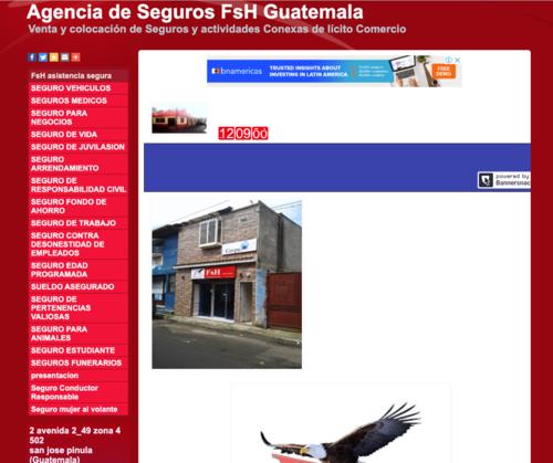 La agencia promocionaba sus productos a través de las redes sociales y su sitio web. (Foto: Captura de pantalla)