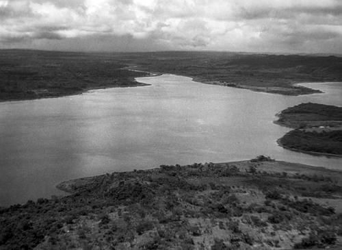 Lago Petén Itzá desde el aire. (Foto: The Ricketson and Kidder aerial survey 1929)