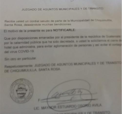 La notificación de cierre a los hoteles del área turística de Monterrico está vigente desde marzo, cuando se reportó el primer caso. (Foto: cortesía Jorge Morales)