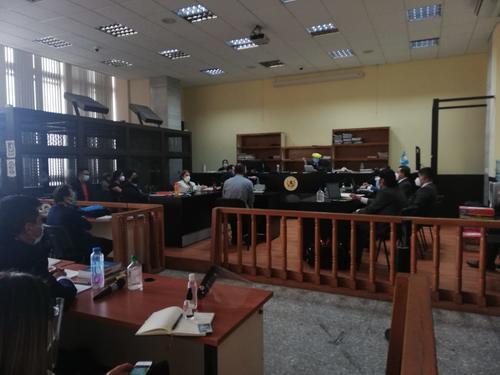 La audiencia de primera declaración del caso La Línea, en la nueva fase dio inicio. (Foto: cortesía)
