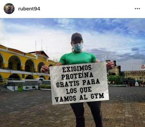 """Esta es la fotografía que publicó el hijo del diputado, ahora conocido como """"Comelón de frijoles"""". (Foto: Intagram Rubent94)"""