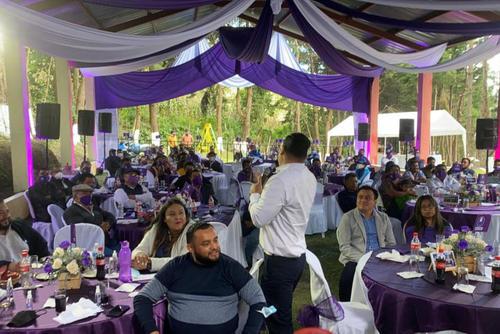En la actividad que Neto Bran llamó de afiliación participaron alrededor de 50 personas. (Foto: Facebook Neto Bran)
