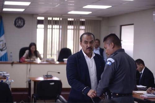 Jaime Aparicio en una audiencia de tribunales en Guatemala. (Foto: archivo/Soy502)