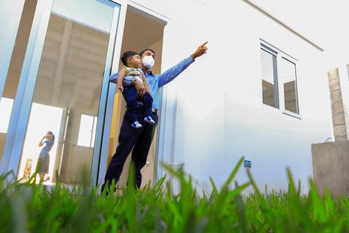 Las familias han sido dignificadas al ser trasladadas hacia una zona segura de vivienda. (Foto: Casa Presidencial El Salvador)