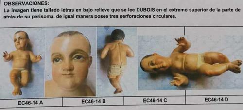 La imagen está documentada en el Registro de Bienes Culturales del Inventario de bienes Culturales de El Salvador. (Foto: Iglesia Dolores)