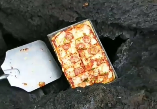 Las pizzas adquieren otro sabor. (Foto: Instagram)