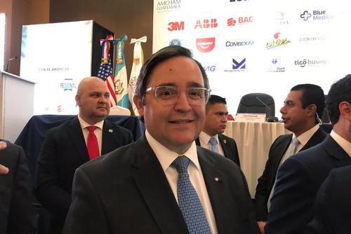 Alfonso Quiñónez es el embajador de Guatemala que estará acreditado en Estados Unidos. (Foto: Evelyn de León/Soy502)