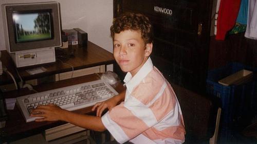 Luis era un apasionado de la computación desde su infancia. (Foto: BBC/Luis von Ahn)