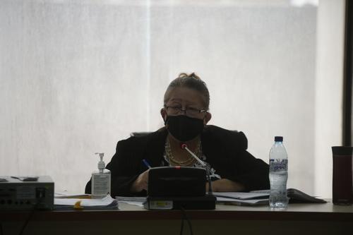 La jueza Virigina Amparo de León es la encargada del proceso penal. (Foto: Wilder López/Soy502)