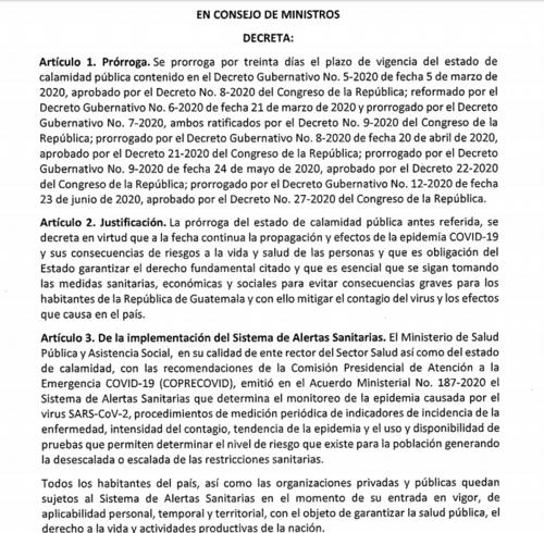 Bolivia decreta estado de