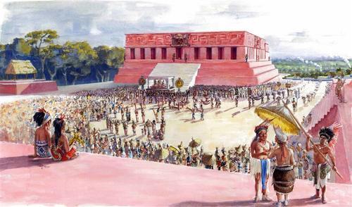 Esta ciudad era muy importante para el comercio. (Foto: Dibujo E. Meijide /Proyecto La Blanca)