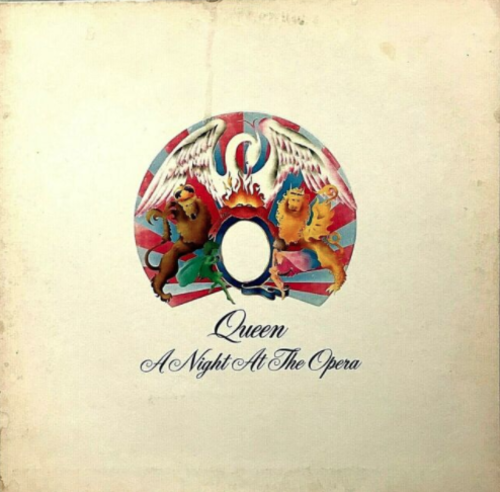 "Portada original del álbum ""A night at the opera"". (Foto: Ebay)"