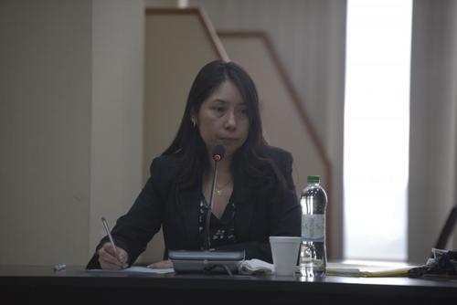 La jueza de Mayor Riesgo D, Erika Aifán, denunció al notificador. (Foto: archivo/Soy502)