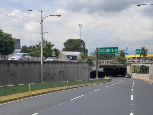 El paso en el lugar se encuentra cerrado. (Foto: Amilcar Montejo/PMT)