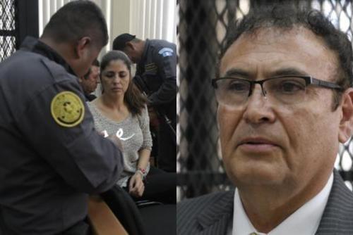 Clara López y Eddy Orellana son los otros acusados.