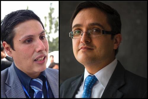 Óscar Shaad y Juan Francisco Sandoval.