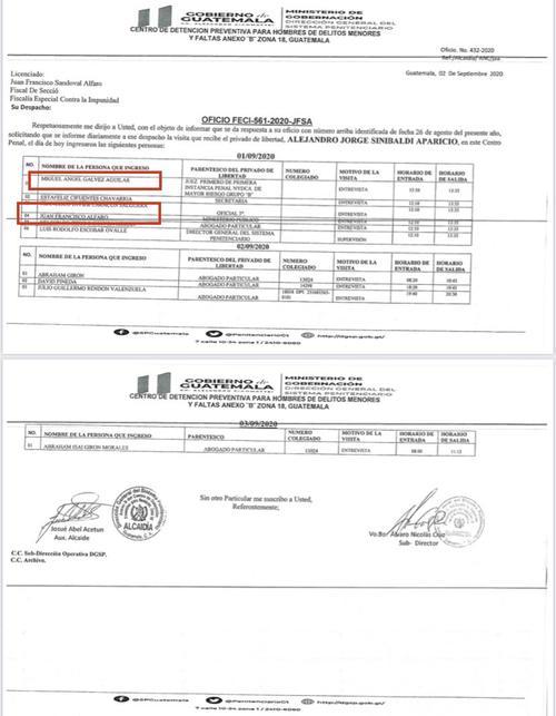 Este es el documento oficial que no debía ser público. (Foto: Twitter Ricardo Méndez Ruiz)