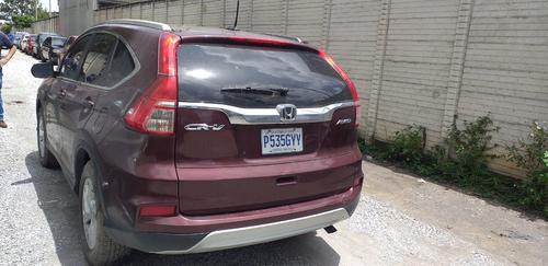 El carro esta valorado en 100 mil quetzales. (Foto: MP)
