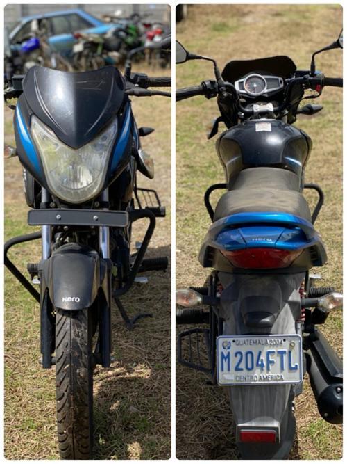 Vista de la motocicleta Hero Ignitor 125 modelo 2018. (Foto: MP)