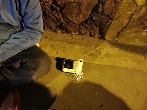 Los individuos no pudieron llegar lejos tras ser descubiertos por las cámaras de vigilancia. (Foto: Muni Guate)