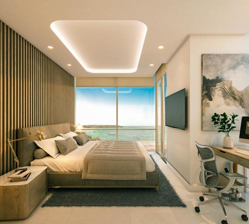 Los apartamentos costarán desde US$250,000 y habrá 136 de diversas dimensiones. (Foto: Desarrollos Inmobiliarios Izabal)