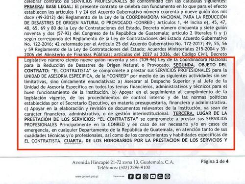 hector giovanni marroquin barrios, viceministro salud, corrupción salud