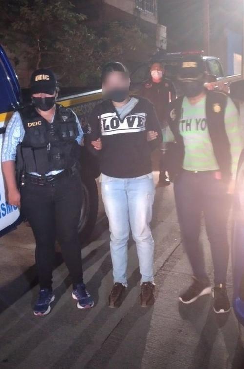 Video, Amatitlán, niñas rescatadas, captura