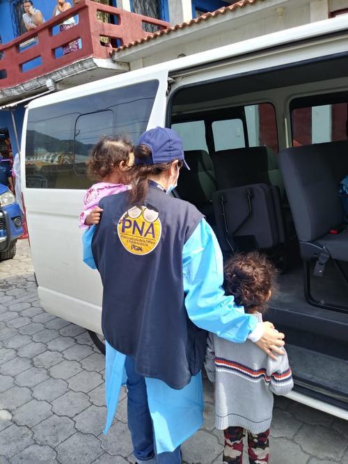 La PGN informó que ubicó la vivienda y rescató a dos niñas cuyos derechos eran vulnerados. (Foto: PNG)