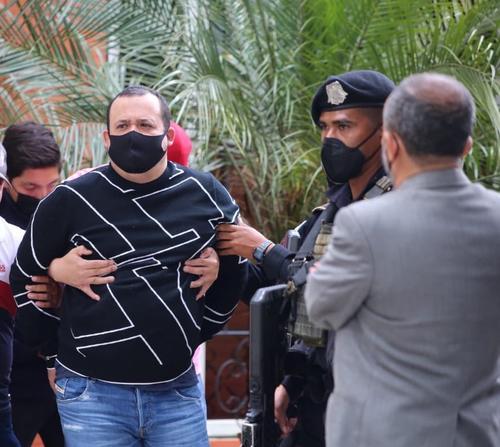 captura realizada por agentes especiales. (Foto: Ministerio de Gobernación)