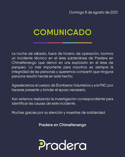 Comunicado, Chimaltenango, pradera