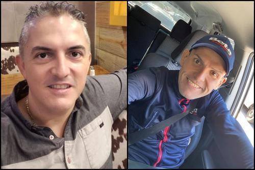Dieter Harald Gehlert Coronado tiene 40 años y Johann Peter Gehlert Coronado tiene 42 años. (Fotos: redes sociales)