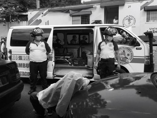 La víctima sufría problemas respiratorios, según informaron testigos en el lugar. (Foto: Bomberos Voluntarios)