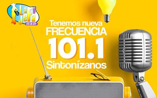 La emisora no tiene frecuencia por lo que no se puede sintonizar el 101.1 que se promueve en redes sociales. (Foto: Facebook)