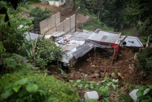 Seis miembros de una familia murieron tras un alud provocado por el paso del huracán Grace. (Foto: informador.mx)