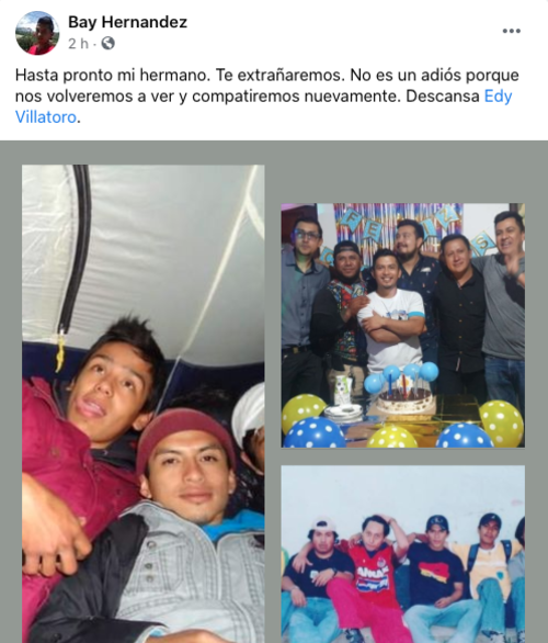 muere Edy Villatoro