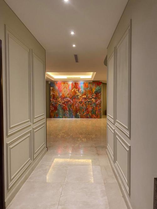 Así luce la obra dentro del palacio real en Arabia Saudita. (Foto: Émilie Dubois)