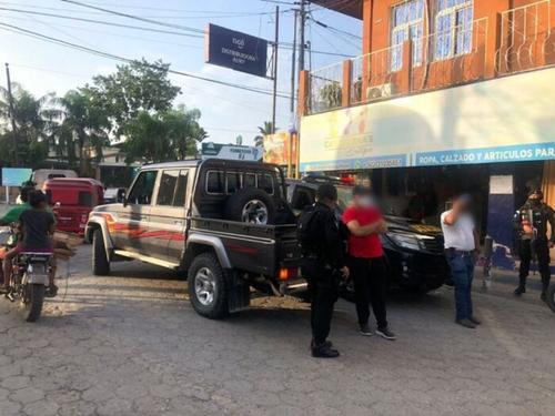 Daniel Valdez fue capturado en Los Amates, Izabal (Foto: Policía Nacional Civil)