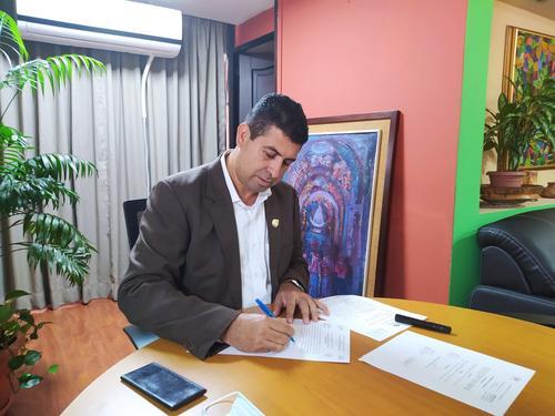 Hernández tomó el cargo el 20 de enero del 2020, pero la llegada del Covid-19 frenó los proyectos que buscaba implementar dentro de la entidad.