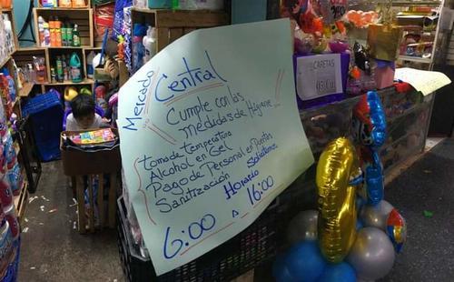 La petición de los locatarios es que los mercados estén abiertos por lo menos hasta las 16 horas. (Foto: FGER)
