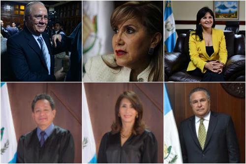 Solo José Maynor Par Usen quedó eliminado, los demás siguen como candidatos. (Fotos: archivo y CC).