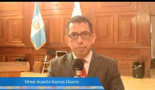 Omar Barrios es uno de los favoritos. De no resultar electo en la Usac, podría ser designado por el presidente Alejandro Giammattei.